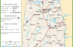 Alabama State Maps | Usa | Maps Of Alabama (Al)   Printable Alabama Road Map