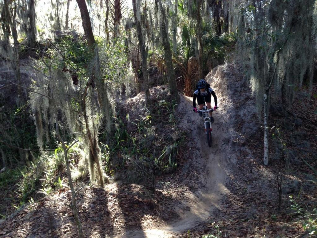 Alafia River State Park Mountain Bike Trail In Brandon, Florida - Florida Mountain Bike Trails Map