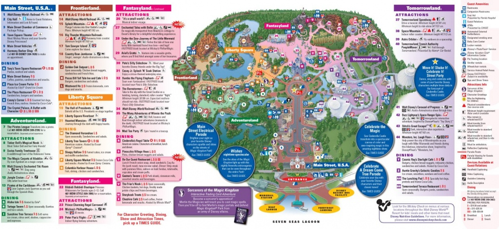 All New 2013 Walt Disney World Park Maps - Chip And Co - Printable Maps Of Disney World Theme Parks