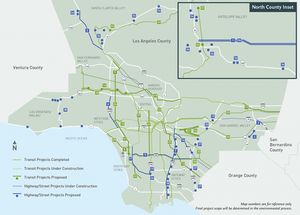 All Projects - California Metro Map