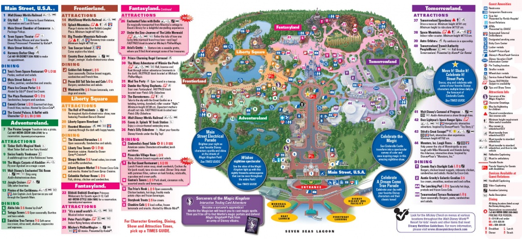 All Walt Disney World Resort Theme Park Maps | Meet The Magic - Maps Of Disney World Printable