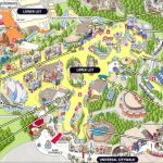 Although Progressed Regular Straight Attach Past Lowest Highest Over   Universal Studios California Map