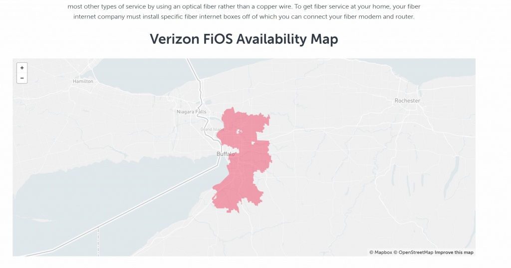 Am I Reading This Right - Everywhere Surrounding The City Has - Fios Availability Map California