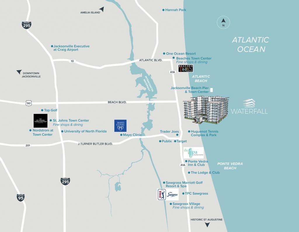 Amelia Island Florida Map - Amelia Island Florida Map