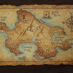 An Ancient Looking Map Of Never Neverland! I Love Old Maps   All Old   Printable Neverland Map