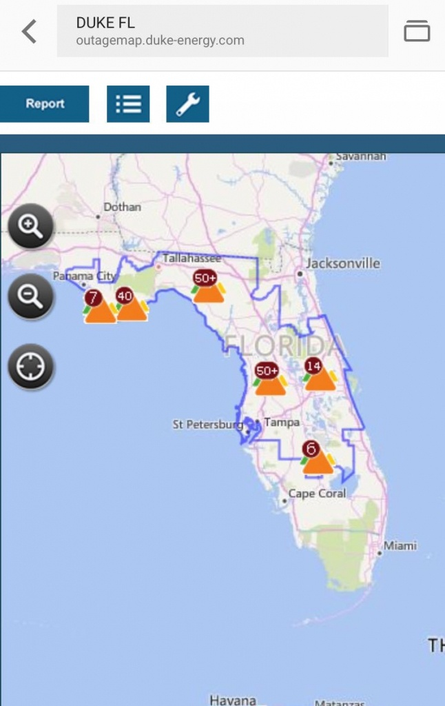 "Ana Gibbs On Twitter: ""stay Connected And Up-To-Date On Latest - Duke Florida Outage Map"