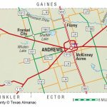 Andrews County | The Handbook Of Texas Online| Texas State   Martin County Texas Section Map