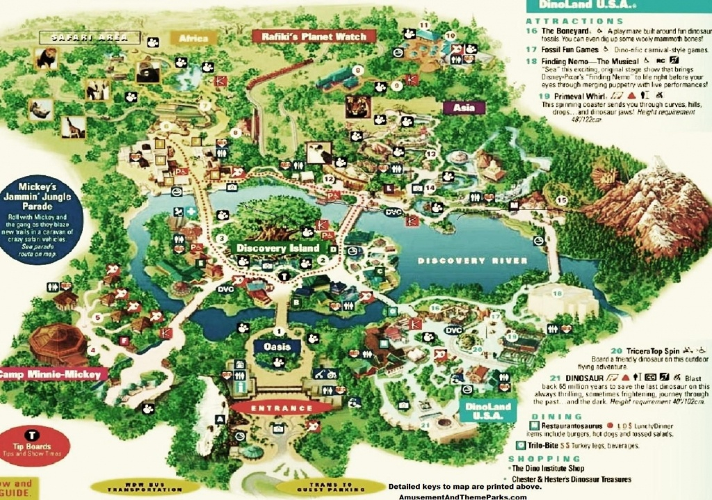 Animal Kingdom Map | Disney | Disney World Trip, Theme Park Map - Animal Kingdom Florida Map