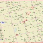 Any Horizontal Drilling Near Section 14 & Section 22/block 35   Martin County Texas Section Map