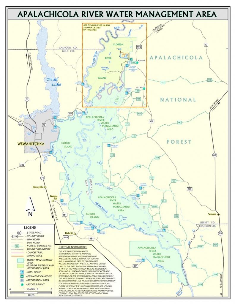 Apalachicola River | Northwest Florida Water Management District - Northwest Florida Water Management District Map