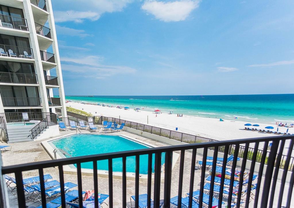 Aqua Vista W306: Panama City Beach 3 Bedroom 2 Full Bathroom Condo - Map Of Panama City Beach Florida Condos