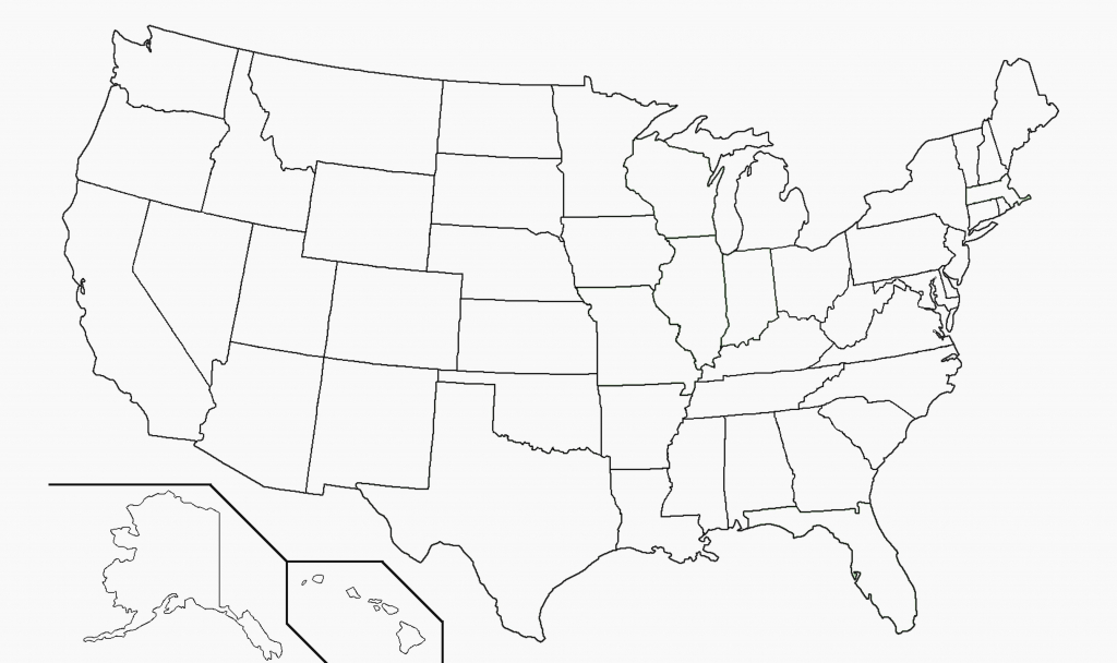 Archive With Tag: Blank Map Of Usa Printable Free | Maps Usa Map Of - Large Usa Map Printable