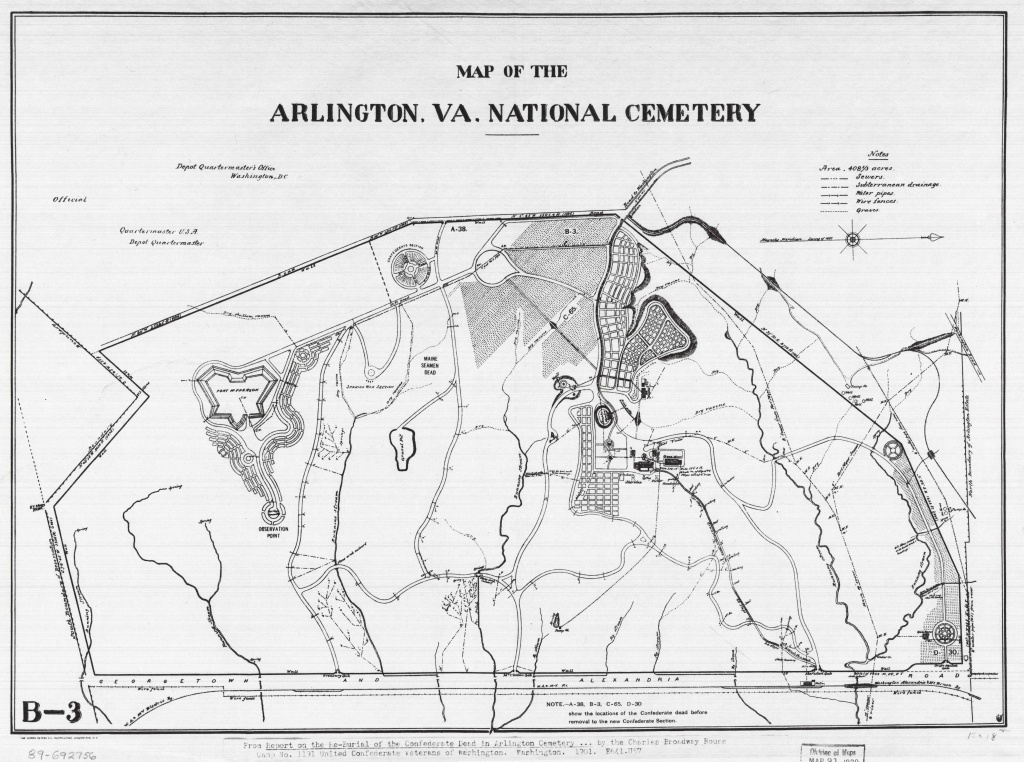 Arlington National Cemetery: Where Every Day We Remember | Worlds - Arlington Cemetery Printable Map