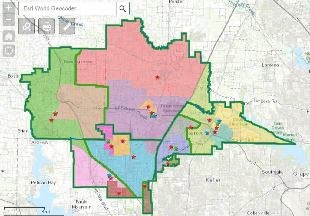 Attendance Boundaries - Northwest Independent School District - Texas School District Map
