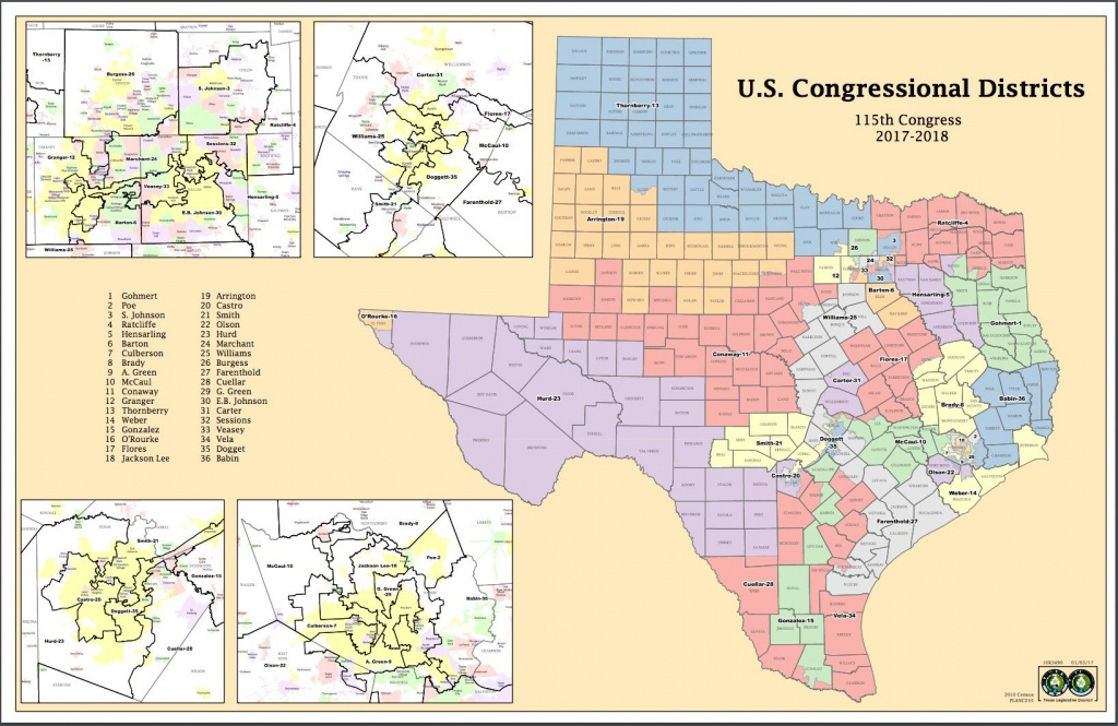 Attorneys Say Texas Might Have New Congressional Districts Before - Texas Congressional Districts Map 2016