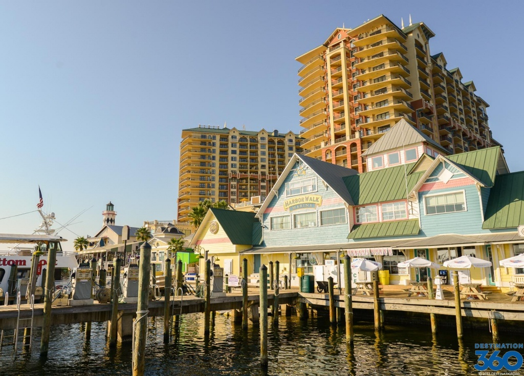 Attractions In Destin Florida - Tourist Attractions In Destin - Map Of Destin Florida Attractions