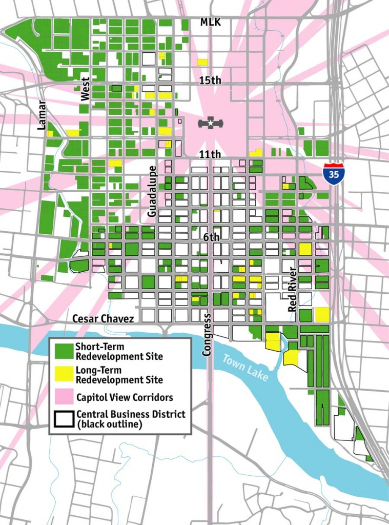 Austin Maps - Austin Texas Map Downtown