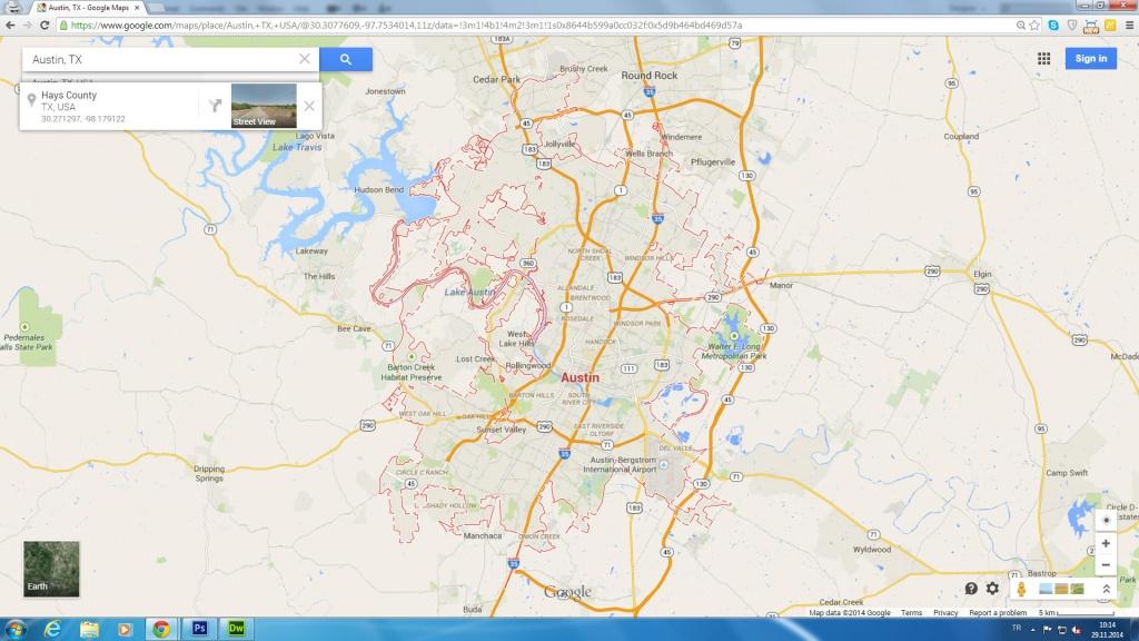 Austin, Texas Map - Google Maps Harlingen Texas