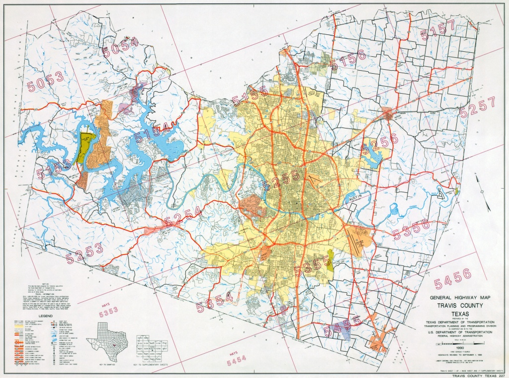 Austin, Texas Maps - Perry-Castañeda Map Collection - Ut Library Online - Leon County Texas Plat Maps
