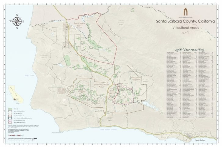Santa Maria California Map
