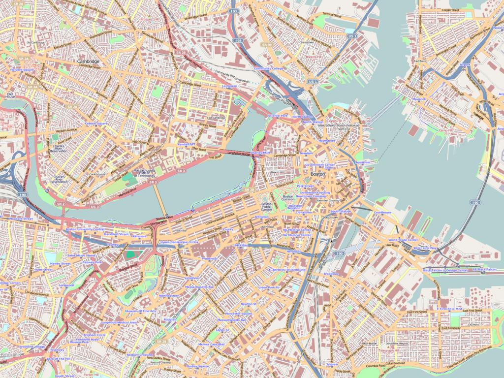 Back Bay, Boston - Wikipedia - Printable Map Of Downtown Boston