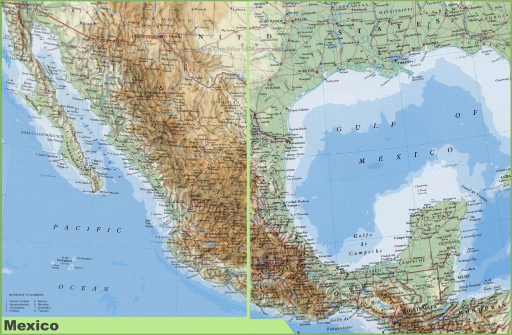 Baja California Peninsula Map Map Baja California Mexico Outline - Detailed Baja California Map