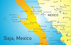 Baja California Sur Map Stock Photos & Baja California Sur Map Stock   Baja California Norte Map