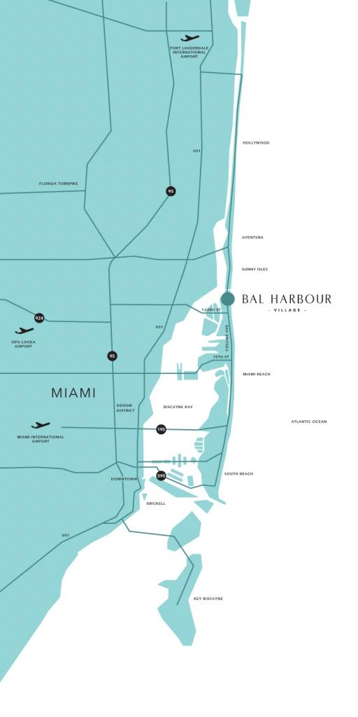 Bal Harbour Florida Map | Danielrossi - Surfside Florida Map