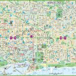 Barcelona Street Map And Travel Information | Download Free   Free Printable City Street Maps