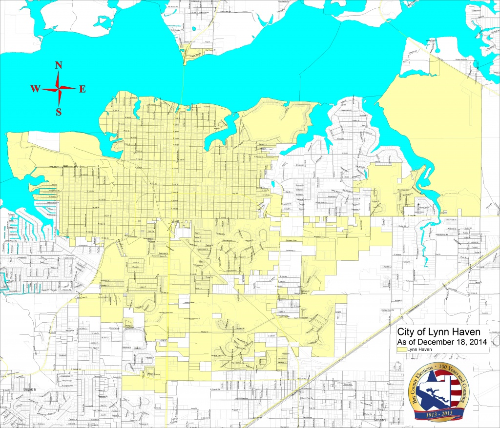 Bay County Supervisor Of Elections > Voter Info > Maps And Boundaries - Panama Beach Florida Map