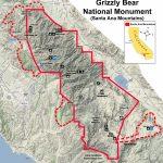 Bears In California Map | Printable Maps   Bears In California Map
