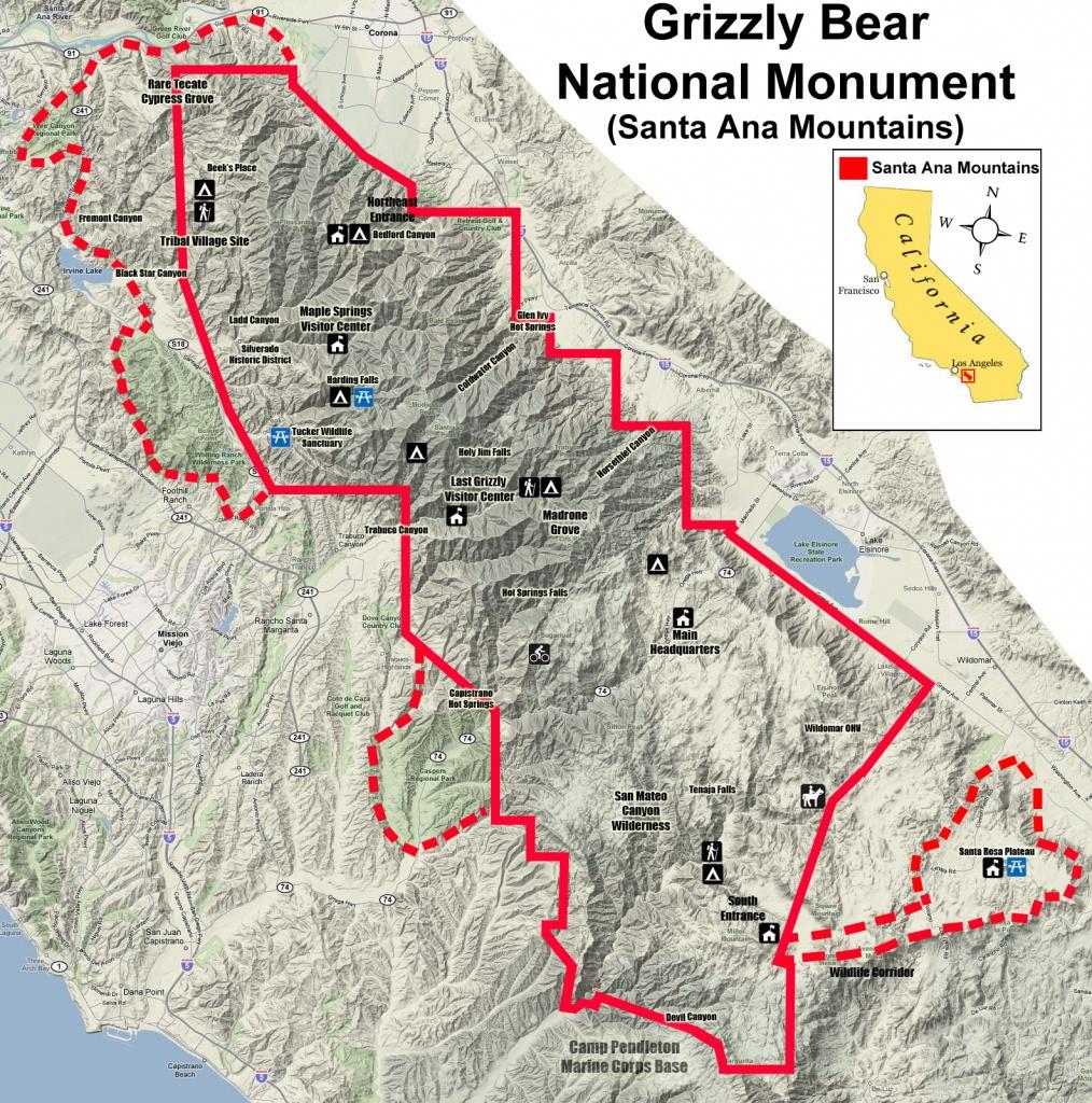 Bears In California Map | Printable Maps - Bears In California Map