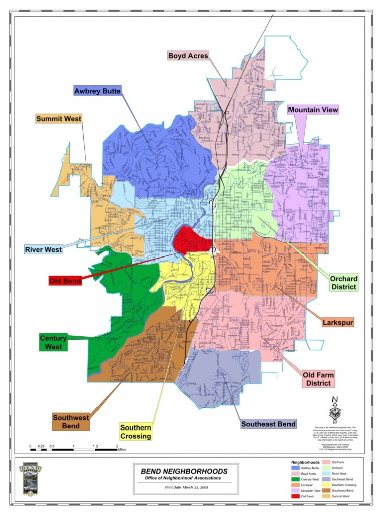 Bend Oregon Maps | Bend Brokers Realty - Printable Map Of Bend Or