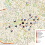 Berlin Printable Tourist Map | Sygic Travel   Berlin Tourist Map Printable