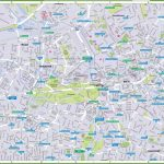 Berlin Tourist Map   Berlin Tourist Map Printable