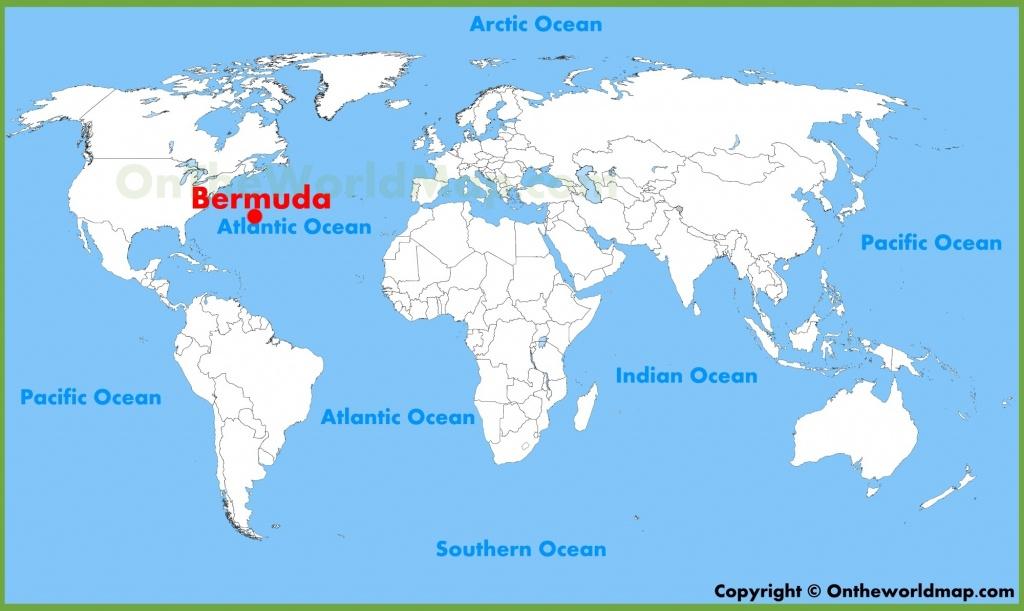 Bermuda Maps   Maps Of Bermuda - Printable Map Of Bermuda