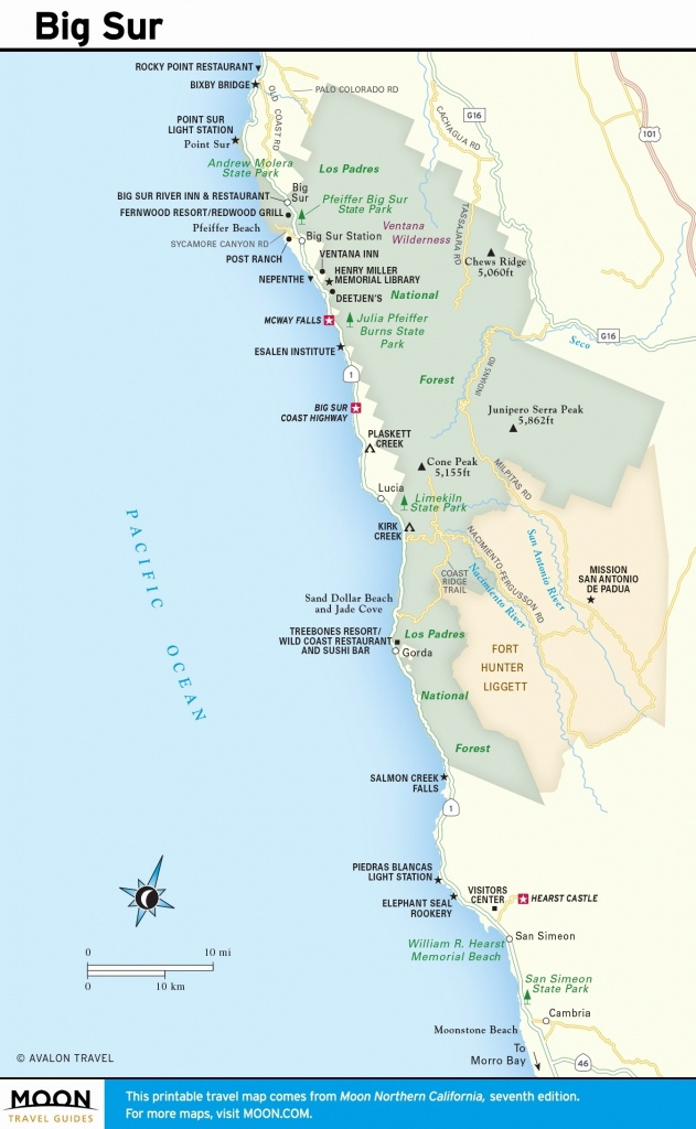 Best Beaches In Northern California Map Beautiful California Best - Northern California Beaches Map