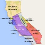 Best California Statearea And Regions Map   Best California Map