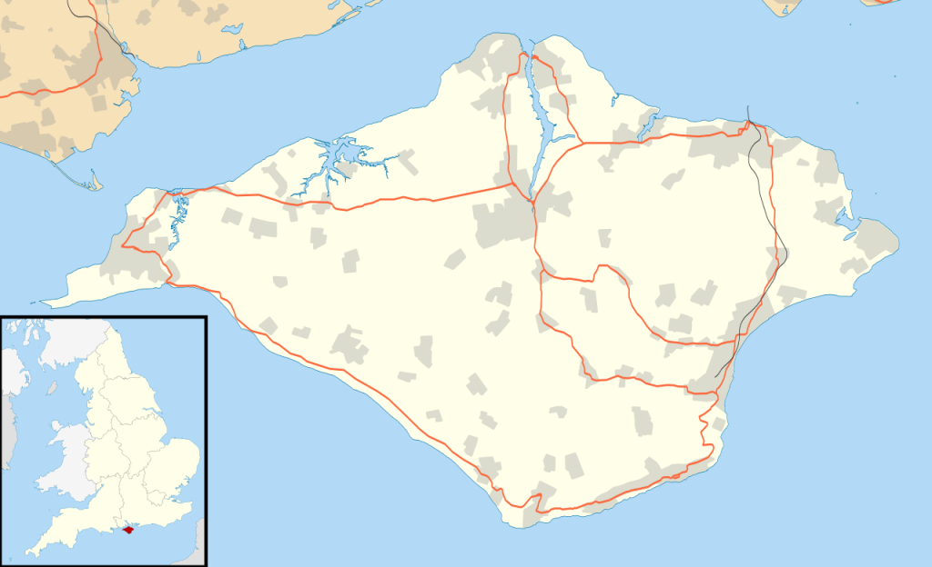 Bestand:isle Of Wight Uk Location Map.svg - Wikipedia - Printable Map Of Isle Of Wight