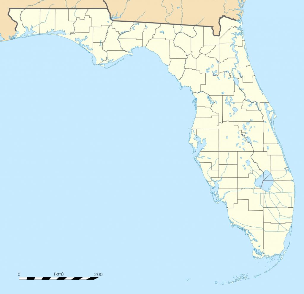 Bestand:usa Florida Location Map.svg - Wikipedia - Belleair Beach Florida Map