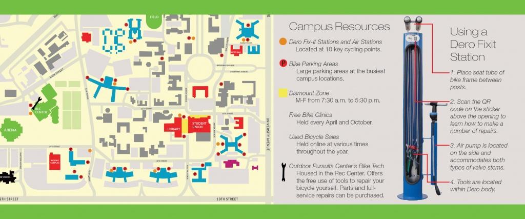 Bicycling   Transportation & Parking Services   Ttu - Texas Tech Dorm Map