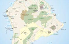 Big Island Of Hawai'i | Scenic Travel | Hawaii Volcanoes National   Printable Road Map Of Kauai