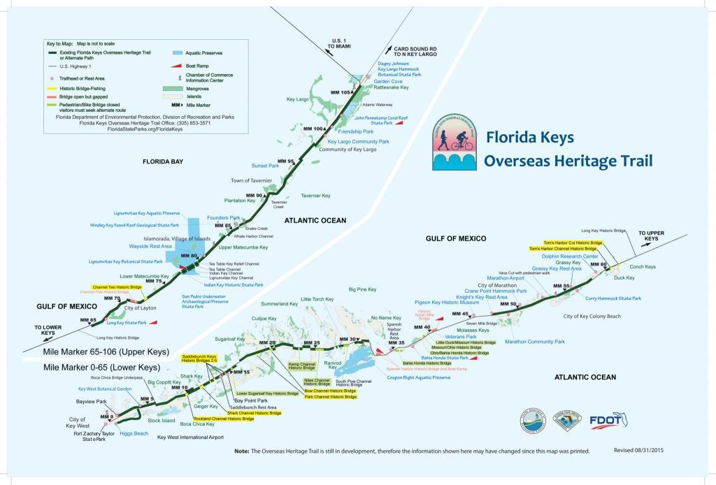 Biking The Florida Keys Overseas Heritage Trail   Florida Rambler - Central Florida Bike Trails Map