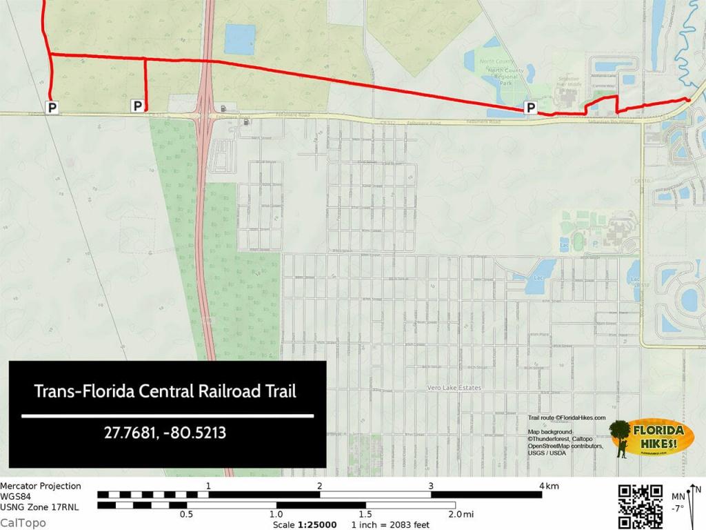 Biking The Trans-Florida Central Railroad Trail   Florida Hikes! - Central Florida Bike Trails Map