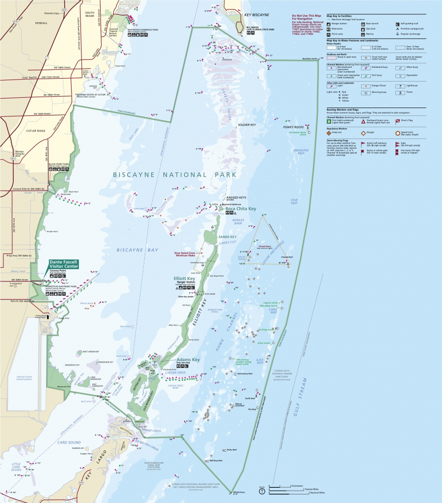 Biscayne Maps   Npmaps - Just Free Maps, Period. - National Parks In Florida Map