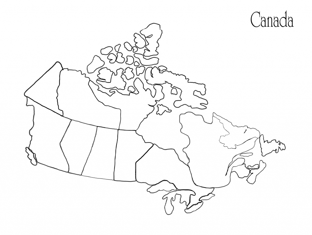 Blank Africa Map Printable Valid Printable Maps Canada Awesome - Map Of Canada Black And White Printable