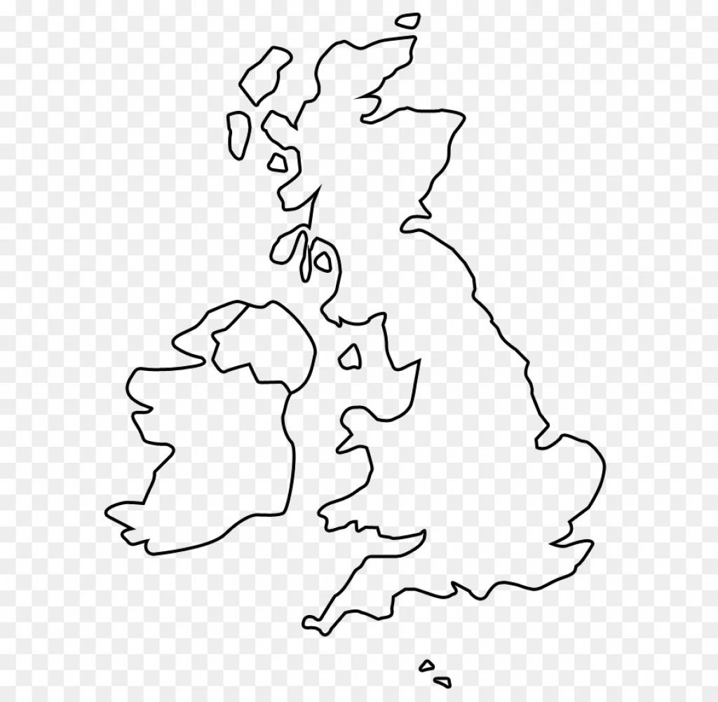 Blank England Map - Berkshireregion - Blank Map Of Scotland Printable