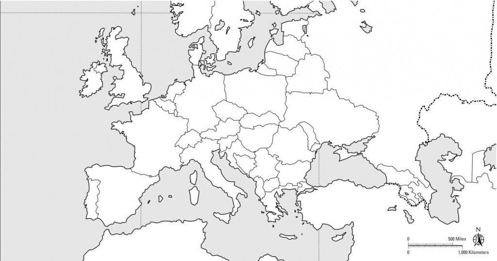 Blank Europe Political Map - Topnfljerseysview - Blank Political Map Of Europe Printable
