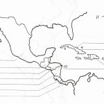 Blank Map Of Central America And Caribbean Islands   America Map   Free Printable Map Of The Caribbean Islands