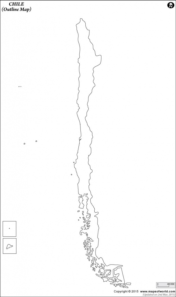 Blank Map Of Chile | Chile Outline Map - Free Printable Map Of Chile
